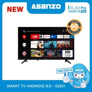 Smart TV Asanzo iSLIM PRO 32''- 32S51